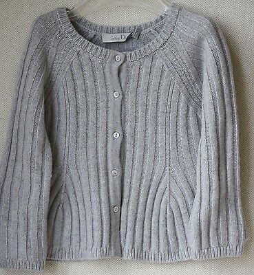 Baby Dior Tricot Knit Grey Cardigan 6 Months