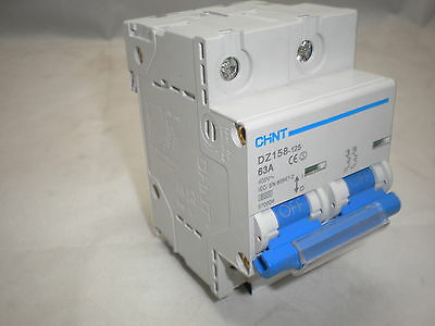 Chint Double Pole Mcb High Current Miniature Circuit Breaker Consumer Unit Board