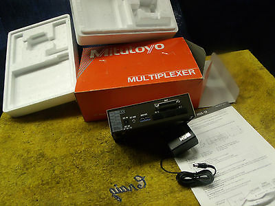 Mitutoyo Digimatic Multiplexer MUX-10 w/ power sourse new in box dirrections