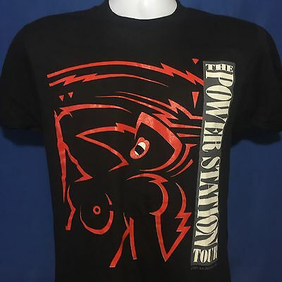 VTG 1985 The Power Station Getting It On Concert Tour T Shirt Duran Duran *XS/S