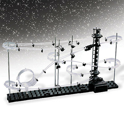 Build-It Yourself Space-Themed Marble Roller Coaster Kit