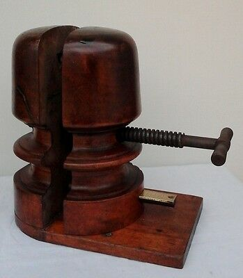 Stunning Victorian Wooden Hat Stretcher, Working Order,  Millinery Shop Display.