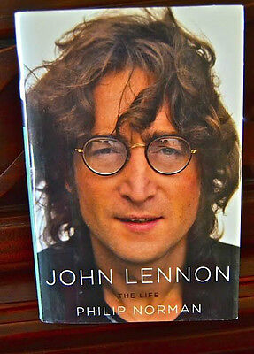 John Lennon The Life Hardcover book - 800+ pages - Author: Philip Norman