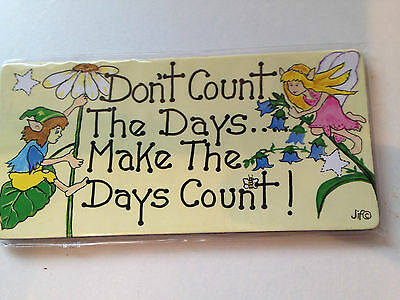 Count The Days Humour Fridge Magnet £1.70
