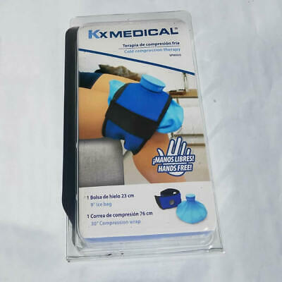 Cold Therapy Reusable Ice Bag w Strap ideal for Knees Ankles Elbows & Thighs NEW