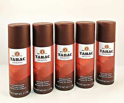 Tabac Original Set 5x Rasierschaum 50ml (ins. 250ml)