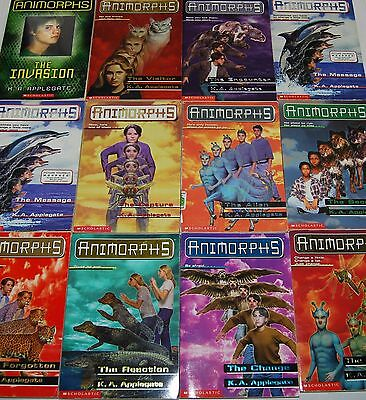 K. A. Applegate Animorphs Paperback   ** ShipDeals **  Pick-A-Book   Build-A-Lot
