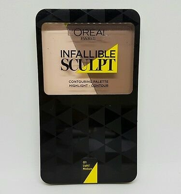L'Oreal Paris Infallible Sculpt Palette light/medium 01