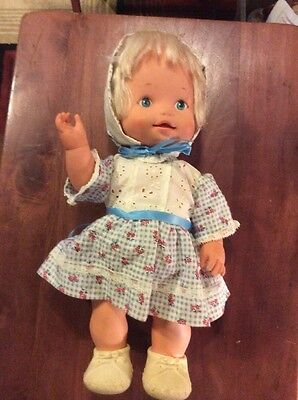 """14"""" Vintage 1976 Remco Doll Baby This 'N That"""