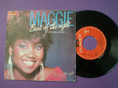 MAGGIE Beat Of The Night SPAIN 45 1984