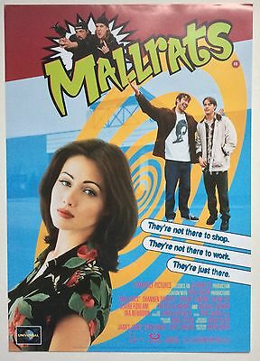 Mallrats / Original Vintage Video Film Poster / Shannen Doherty 2