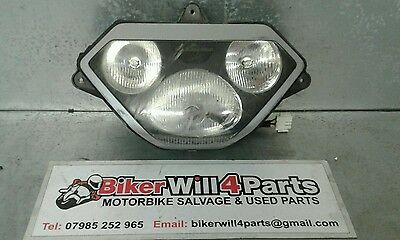 Aprilia Rsv Mille Rsv1000 Tuono 1998-2003 Damaged Headlight
