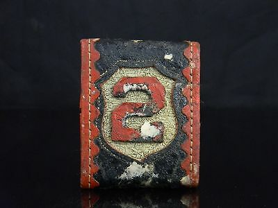 Extremely Rare Antique Cairns & Bro Firefighter Parade Belt Slide #2 Grand St NY