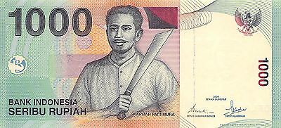 Indonesia  1000 Rupiah  2000 P 141a  Uncirculated Banknote