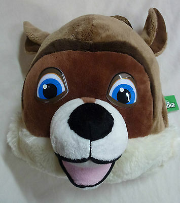 "Fox From Over The Hedge Back Pack Plush Toy Brand New Size Approx; 11""x11"""