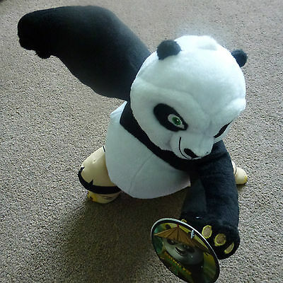 """Po From The Film Kung Fu Panda Size Approx, 11"""" Tall New With Tags"""