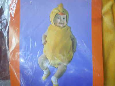 Wyla Just Pretend Infant Easter Chick Romper Costume Size 0-6 Months New
