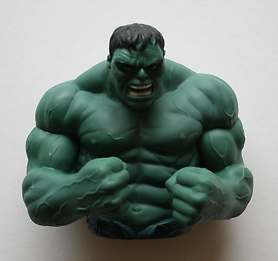 The Incredible Hulk Marvel Comics Superhero Muscle Rage Coin Bust Bank