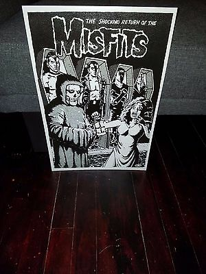 Misfits poster Return of Poster Danzig Rancid Punk NYHC Bad Brains Sheer Terror
