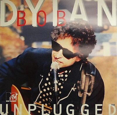 Bob Dylan 23x23 MTV Unplugged Promo Music Poster 1995