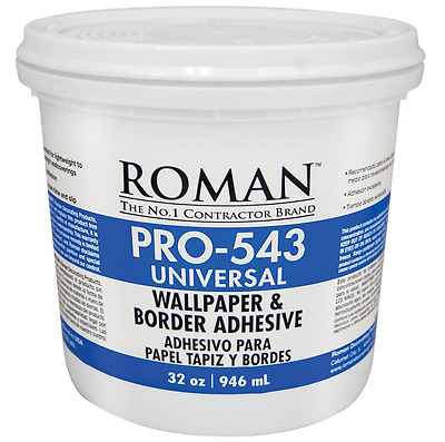 ROMAN Glue Universal Wallpaper Adhesive All Surface Wall Paper Border Supplies