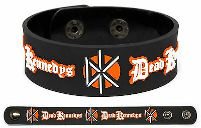 DEAD KENNEDYS Rubber Bracelet Wristband Plastic Surgery Disasters