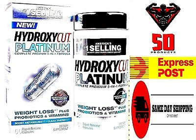 Hydroxycut Platinum  60 Rapid-Release Capsules // FREE EXPRESS POST