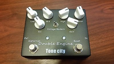 Tone City Double Engine Rectified Distortion (Wampler Style) Triple Wreck Clone