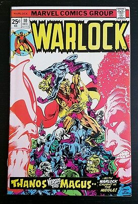 Warlock #10 (1975 Marvel) *origin Of Thanos & Gamora* Nm-/nm