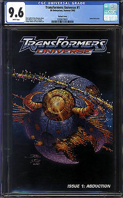Transformers Universe #1 CGC 9.6 Convention Variant!!! Highest Graded!! 1 of 1!!