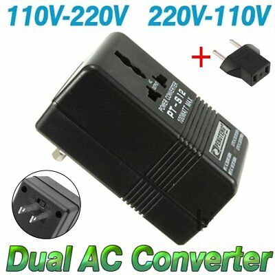 100W Converter Adapter AC 110V/120V to 220V/240V Up Down Volt Transformer + EU B