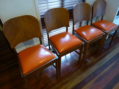 Vintage Art Deco Dining Chairs