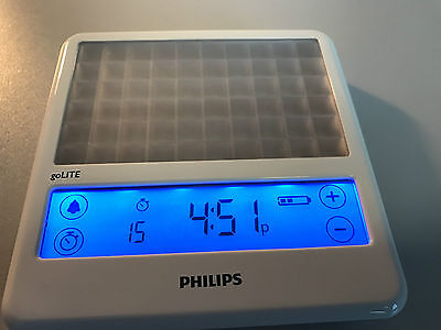 Philips goLITE BLU - DEPRESSION ANXIETY energy light therapy HF3330 TIM FERRISS