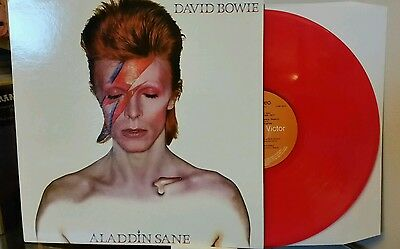David Bowie -  Aladdin Sane - RS 1001 - RCA Victor Red UK Press Vinyl LP - New