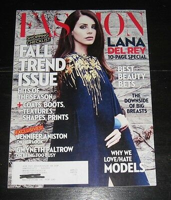 canadian FASHION & Beauty magazine 10 pages on LANA DEL REY September 2014 photo