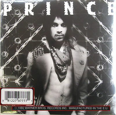 PRINCE LP Dirty Mind Re-issue on 180 Gram Vinyl  NEW SEALED
