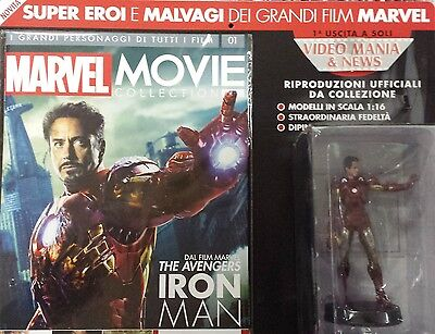 Figure Eroe Iron Man Marvel Movie Collection 1 Eaglemoss