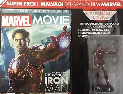 Marvel Movie Collection  Iron Man +Fascicolo. Eaglemoss Vol 1