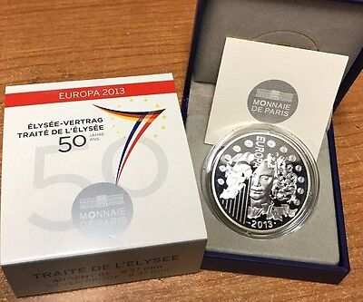 France 2013 Traite Elysee 10 euro Silver Proof Francia € Europa silber argent