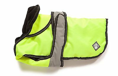 "Danish Design Dog Coat 2 in 1 - Hi Viz - 35cm (14"")"