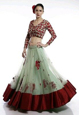 Designer Beautifull Wedding Saree Sari Lehenga Partywear Indian Dress