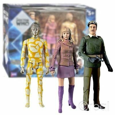 New Classic Doctor Who Claws Of Axos Collectors Set Action Figures Official