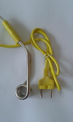 New Mini Water Immersion Heater Camping Hot Water Coffee Tea Travel Kettles