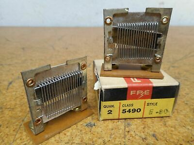 FPE Federal Pacific 5490 F-80 Overload Heater Elements New (Lot of 2)
