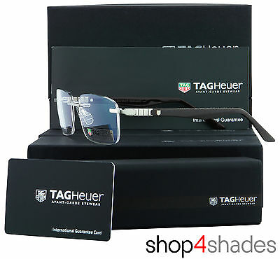 Tag Heuer Legend Rimless Glasses Frame Matte Brown_Shiny Brown_Pure 9342 004 59
