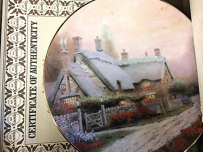 1992 McKenna's Cottage Knowles Collector's Plate