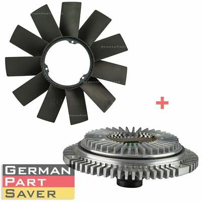 FAN BLADE + FAN CLUTCH KIT for BMW E36 E46 E53 E34 E32 E39 323i 325i X5 Z3 528i