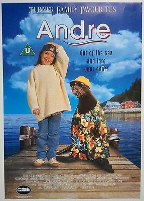 Andre / Original Vintage Video Film Poster / Keith Carradine 3