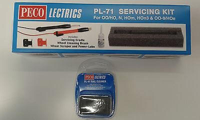 Electric Servicing Kit (loco maintenance) + track rubber Peco PL-71/41 free post
