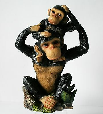Monkey Figurine Statue Chimpanzee Figurine NEW !